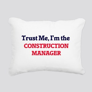 Trust me, I'm the Constr Rectangular Canvas Pillow