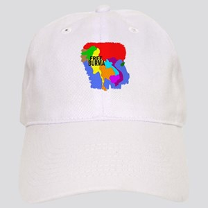 Burma Map Cap