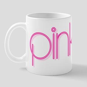 Pink (circular) Mug
