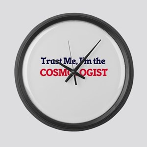 Trust me, I'm the Cosmologist Large Wall Clock