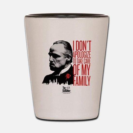 Don't Apologize 2 Shot Glass