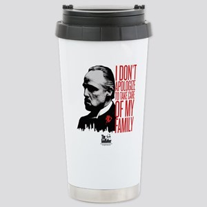 Don't Apologize 2 Stainless Steel Travel Mug