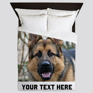 German Shepherd Dog Queen Duvet