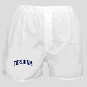 FORDHAM design (blue) Boxer Shorts