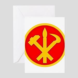 WPK Emblem Greeting Cards