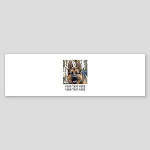 German Shepherd Dog Sticker (Bumper)