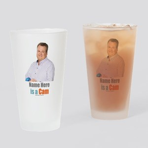 Modern Family Cam Personalized Drinking Glass