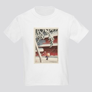 Snow in the Temple T-Shirt