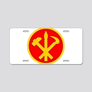 WPK Emblem Aluminum License Plate