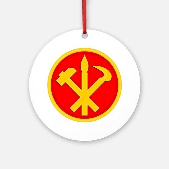 WPK Emblem Round Ornament