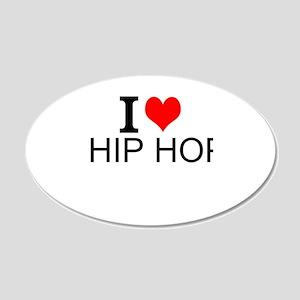 I Love Hip Hop Wall Decal