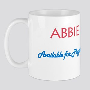 Abbie - Available For Playdat Mug