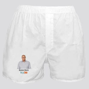 Modern Family Jay Personalized Boxer Shorts
