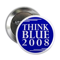 Think Blue 2008 (pack of 10 buttons)