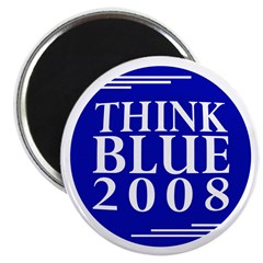 Think Blue 2008 (pack of 10 magnets)