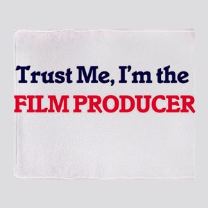 Trust me, I'm the Film Producer Throw Blanket