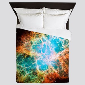 Crab Nebula Queen Duvet