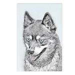 Alaskan Klee Kai Postcards (Package of 8)