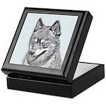 Alaskan Klee Kai Keepsake Box