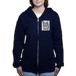 Alaskan Klee Kai Women's Zip Hoodie