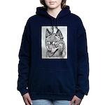 Alaskan Klee Kai Women's Hooded Sweatshirt