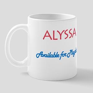 Alyssa - Available For Playda Mug