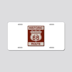 Ft Leonard Wood Route 66 Aluminum License Plate