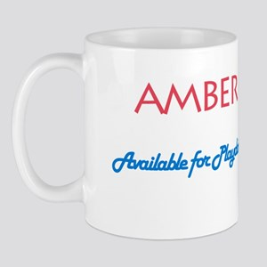 Amber - Available For Playdat Mug