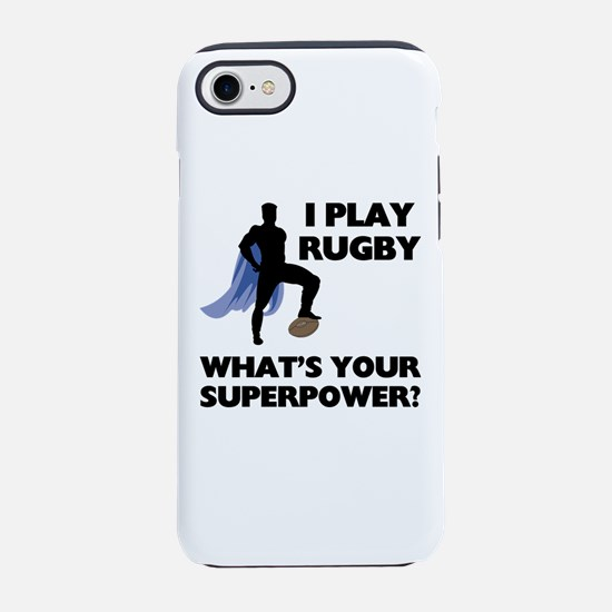 Rugby Superhero iPhone 8/7 Tough Case