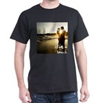Luciano Illuminatis Beach Dark T-Shirt