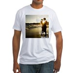 Luciano Illuminatis Beach Fitted T-Shirt