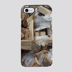 Mostly Split Birch iPhone 8/7 Tough Case