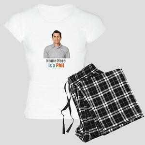 Modern Family Phil Personal Women's Light Pajamas