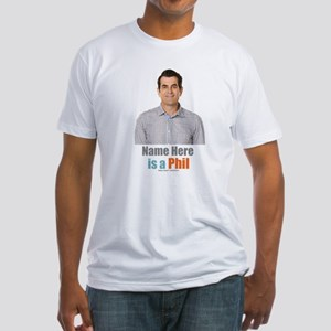 Modern Family Phil Personalized Fitted T-Shirt