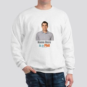 Modern Family Phil Personalized Sweatshirt
