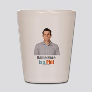 Modern Family Phil Personalized Shot Glass