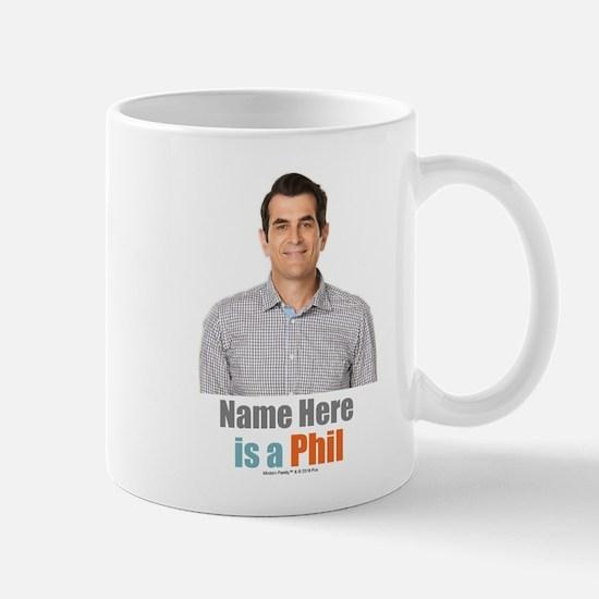 Modern Family Phil Personalized Mug