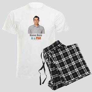 Modern Family Phil Personaliz Men's Light Pajamas