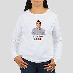 Modern Family Phil Per Women's Long Sleeve T-Shirt
