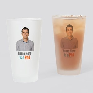 Modern Family Phil Personalized Drinking Glass