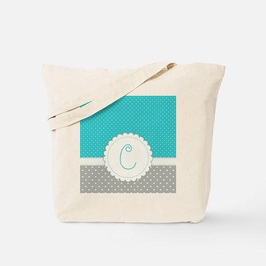 Cute Monogram Letter C Tote Bag