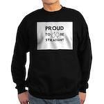 Proud to Be Straight Sweatshirt (dark)