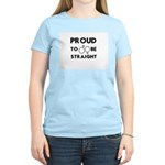 Proud to Be Straight Women's Light T-Shirt