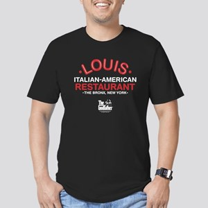 Godfather-Louis Men's Fitted T-Shirt (dark)