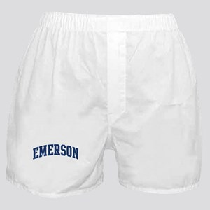 EMERSON design (blue) Boxer Shorts