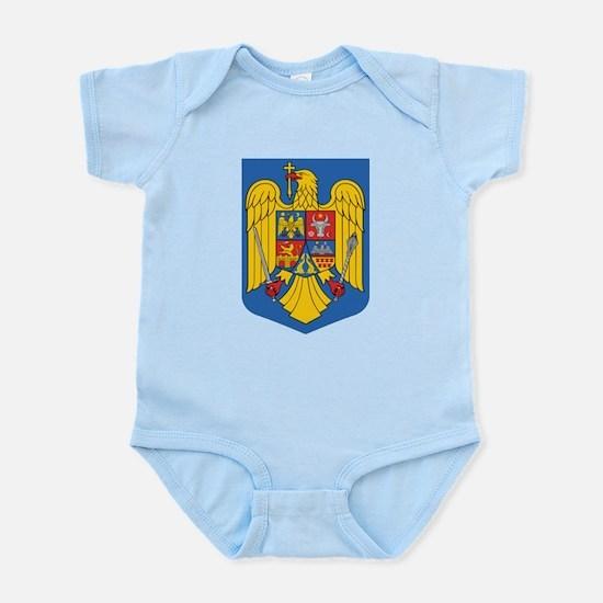 Romania Coat Of Arms Body Suit