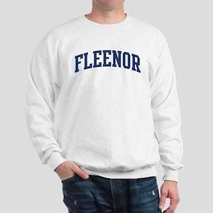 FLEENOR design (blue) Sweatshirt