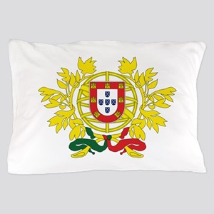 Portugal Coat Of Arms Pillow Case