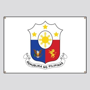 Philippines Coat Of Arms Banner
