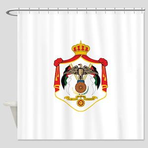 Jordan Coat Of Arms Shower Curtain